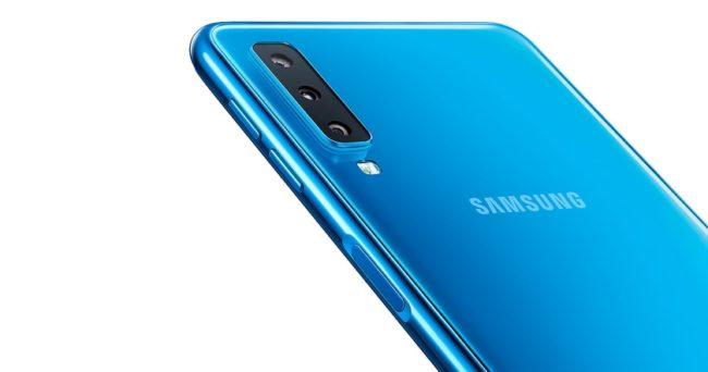 Samsung Galaxy A50 камера