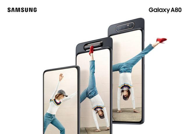 Samsung Galaxy A80 экран