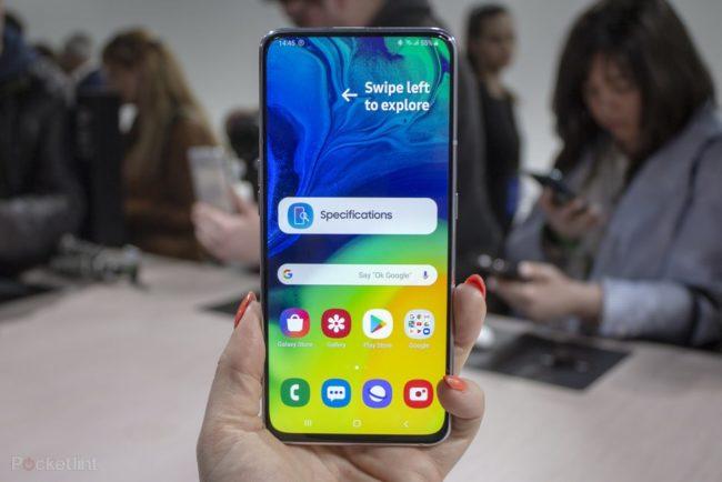 телефон Samsung Galaxy A80