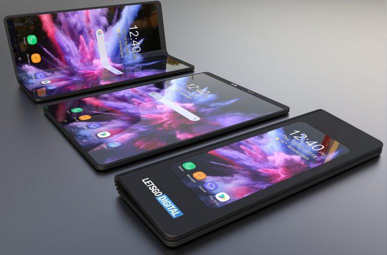 Samsung Galaxy F дизайн