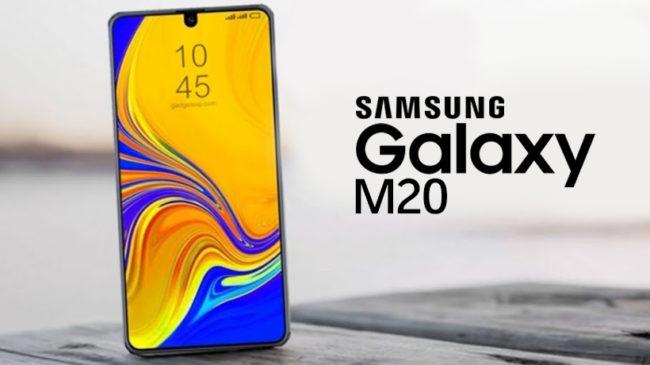 телефон Samsung Galaxy M20