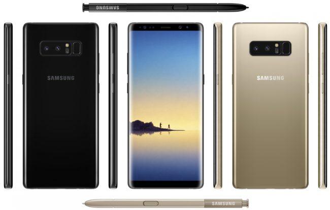 Смартфон Samsung Galaxy Note 8 — дата выхода, обзор