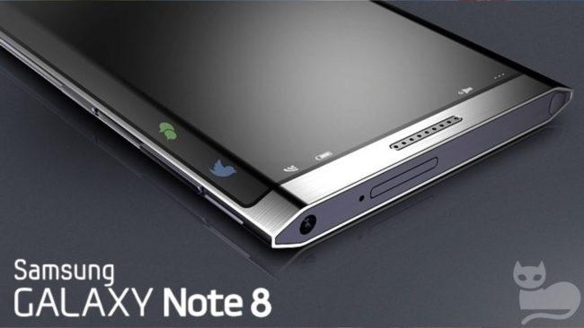 Samsung Galaxy Note 8 дата выхода