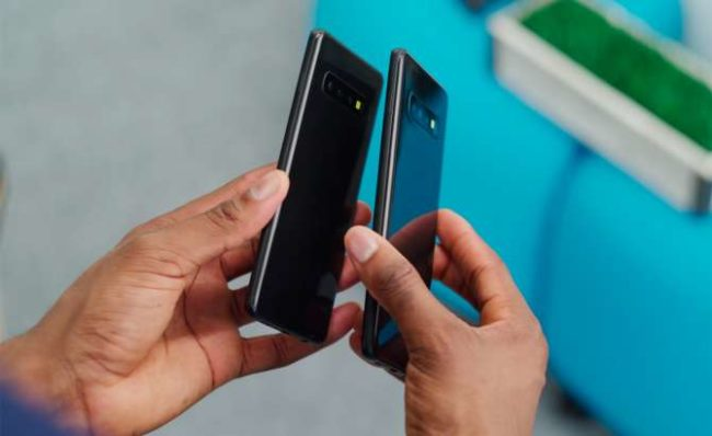 Samsung Galaxy S10 Plus внешний вид