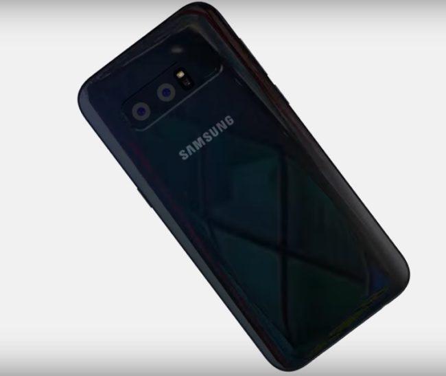 Samsung Galaxy S9 вид сзади