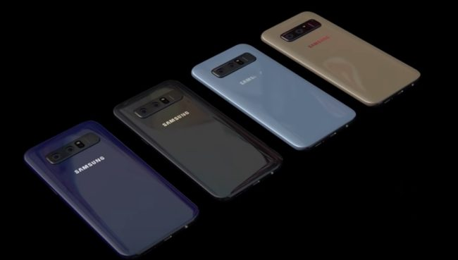 Samsung Galaxy S9 цвет