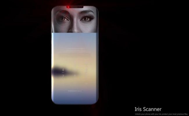 Samsung Galaxy S9 сканер
