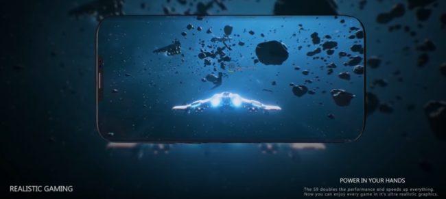 Samsung Galaxy S9 графика