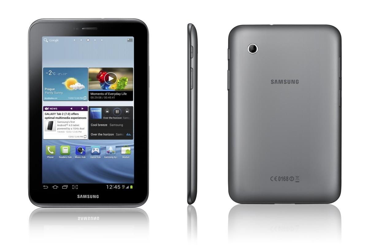 Samsung Galaxy Tab 2 7.0 — обзор + видеообзор