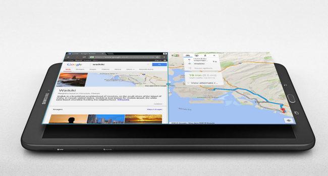 Samsung Galaxy Tab E 9.6 многозадачность