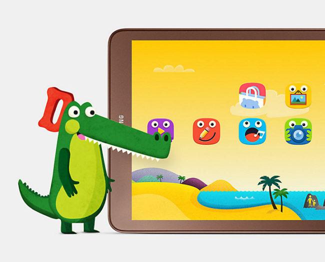 Samsung Galaxy Tab E 9.6 детский режим