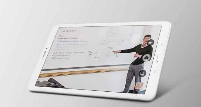 Samsung Galaxy Tab E 9.6 камера