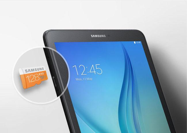Samsung Galaxy Tab E 9.6 128гб карта памяти