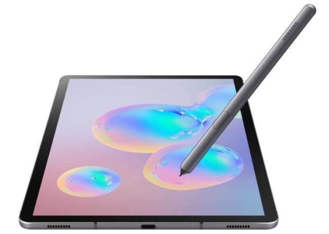 Samsung Galaxy Tab S6 5G дисплей
