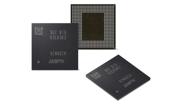 Samsung анонсировали первую версию LPDDR5 DRAM для 5G