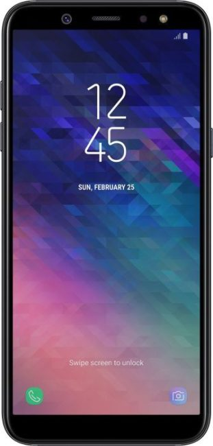 Samsung Galaxy A6 экран