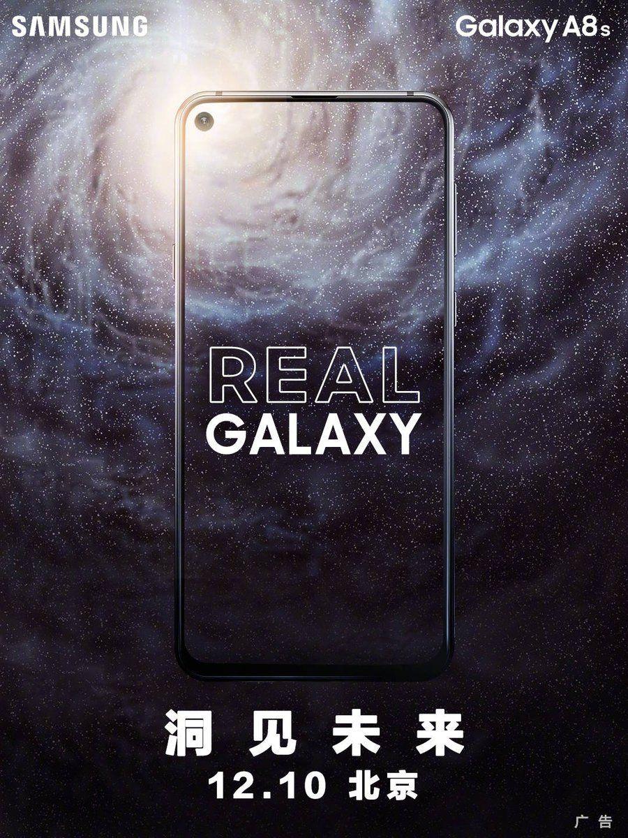 Смартфон Samsung Galaxy A8S — дата выхода, обзор