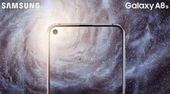Samsung Galaxy A8S экран