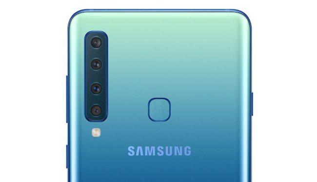 Samsung Galaxy A9 (2018) камера