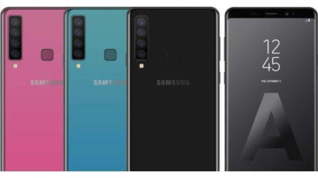 Samsung Galaxy A9 (2018) камеры