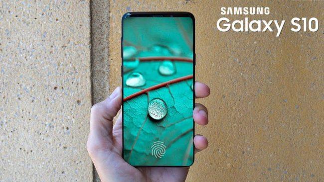 Samsung Galaxy S10 экран