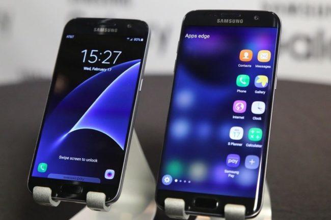 Samsung Galaxy S7 экран
