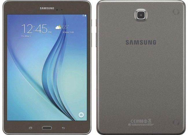 Samsung Galaxy Tab A 8.0 камера