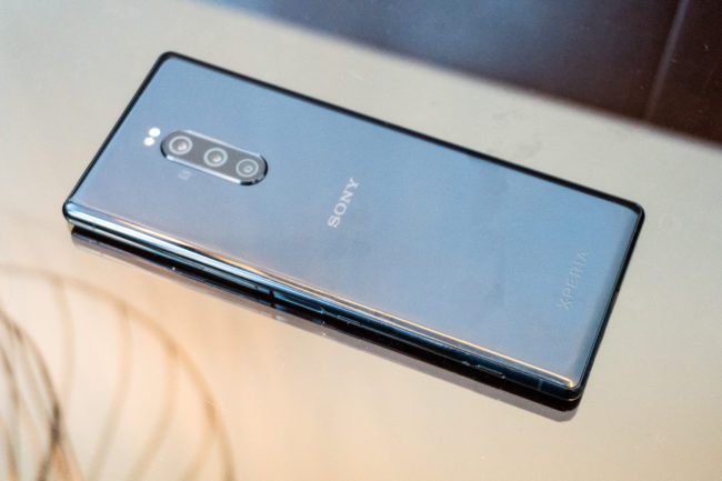 Sony Xperia 1 основная камера