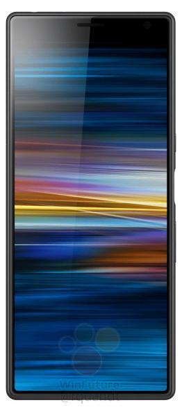 Sony Xperia 10 экран