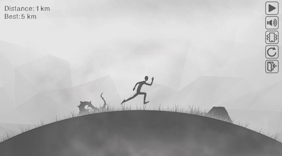 Stickman Death Run на Андроид