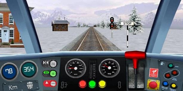 Поезд - вождение. Симулятор на Андроид
