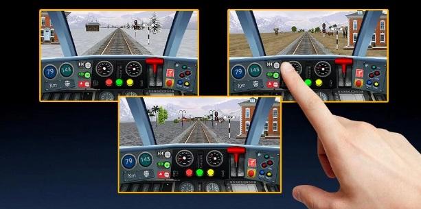 Поезд - вождение. Симулятор на ПК