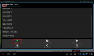 Как скачать видео ролики с YouTube на планшет с Android