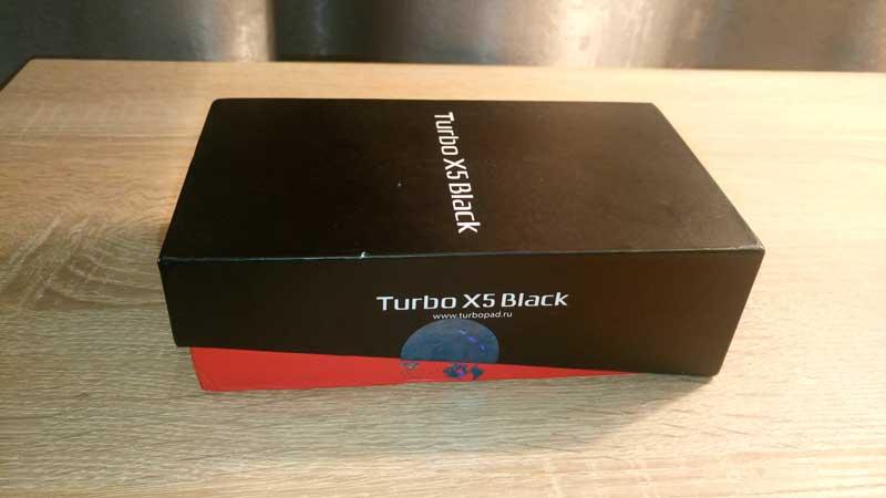 Коробка Turbo X5 Black
