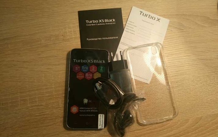 Turbo X5 Black комплектация
