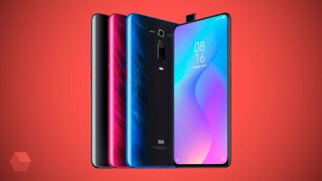 Xiaomi Mi 9T дизайн