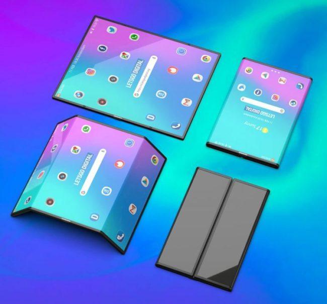 Xiaomi Mi Mix Flex дизайн