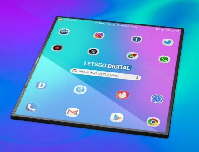 Xiaomi Mi Mix Flex экран
