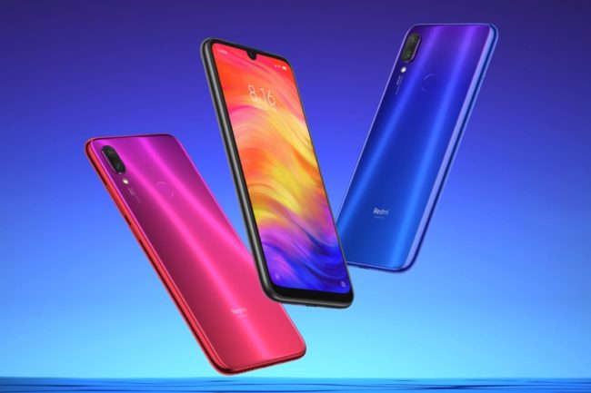 Xiaomi Redmi Note 7 цвета