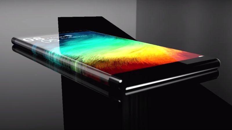 Xiaomi Mi6 вид сбоку