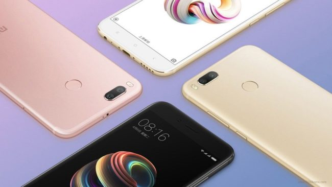 Xiaomi Mi 6X цвета