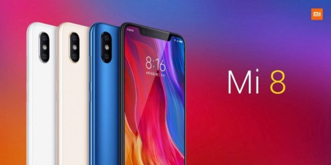Xiaomi Mi 8 экран