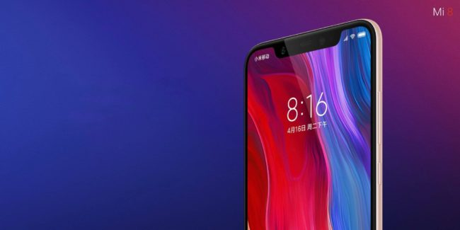 смартфон Xiaomi Mi 8