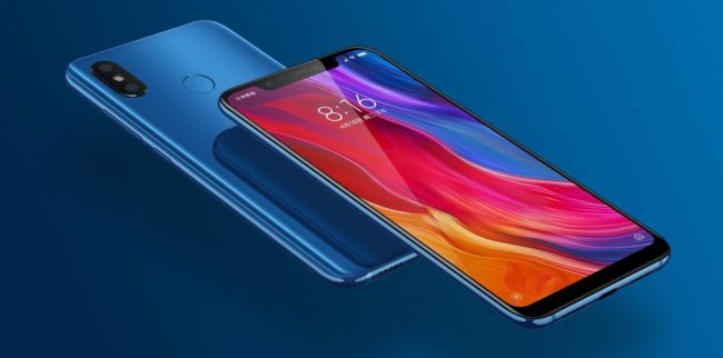 Xiaomi Mi 8 внешний вид