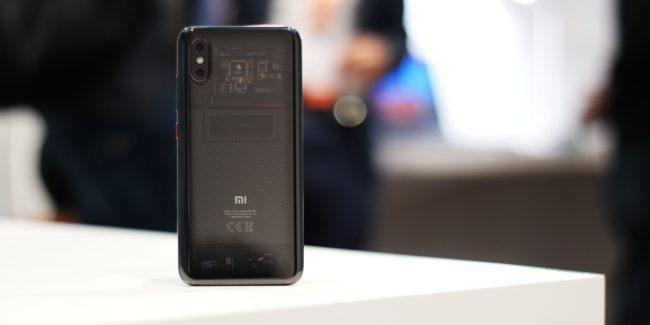 Xiaomi Mi 8 Pro тыльная камера