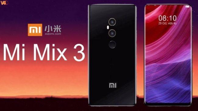 Xiaomi Mi MIX 3 камеры