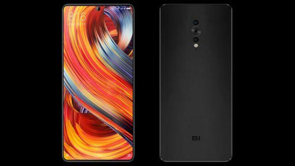 Xiaomi Mi MIX 3 экран