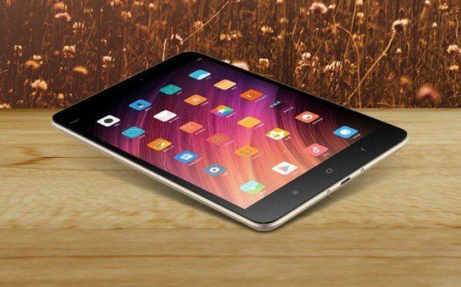 Xiaomi Mi Pad 4 внешний вид