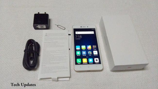 Xiaomi Redmi 4A комплектация