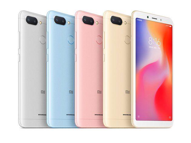 Xiaomi Redmi 6 цвета